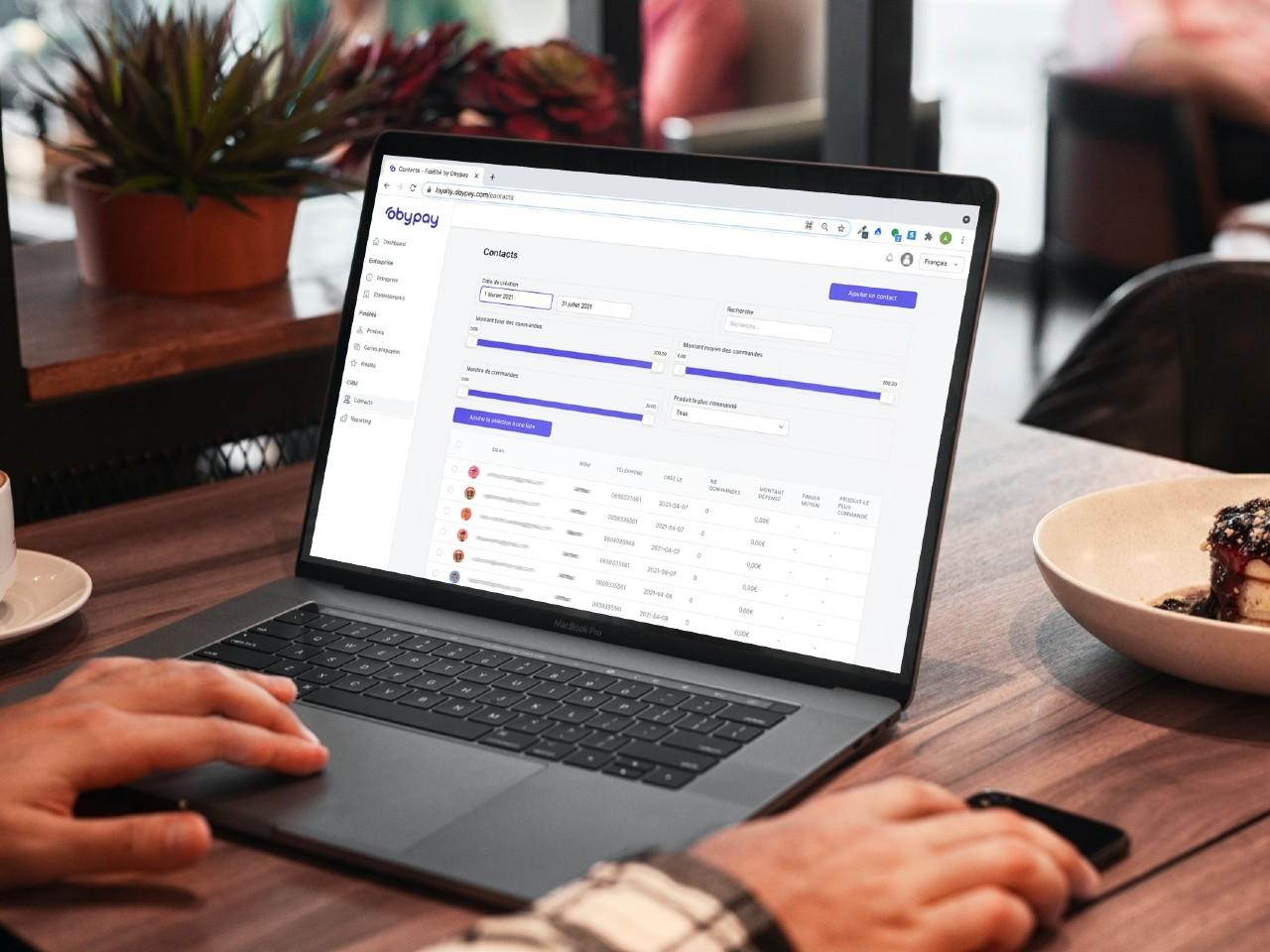 Créez une base de données clients pour votre restaurant avec Obypay